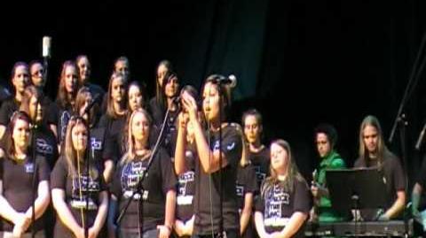 """Chorus Concert; Singing """"Bring Me To Life"""""""