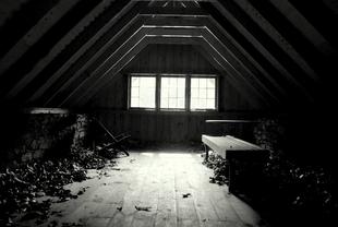 Creepy attic by toxicdots