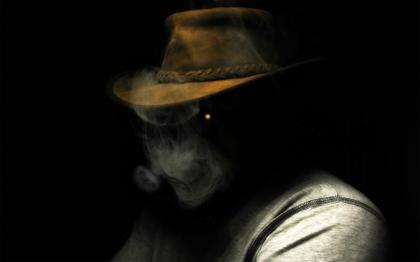 FileSmoking Dark People Hats Black Background 1920x1200 Wallpaper Artwallpaperhi 45