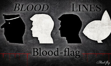Bloodlines by blood flag dd54vy9-fullview