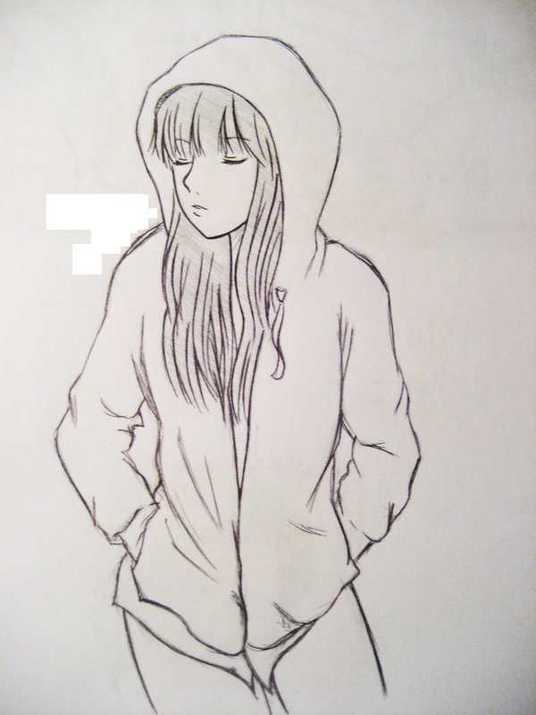 how to draw cute anime person
