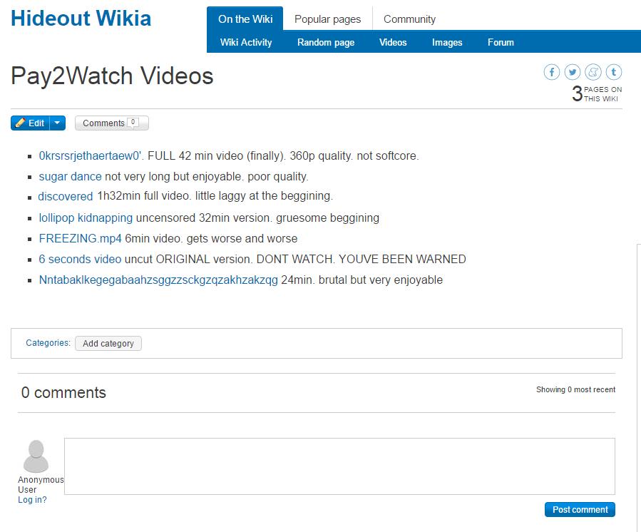 6 seconds video | Wiki Creepypasta | FANDOM powered by Wikia
