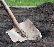 Digging grave