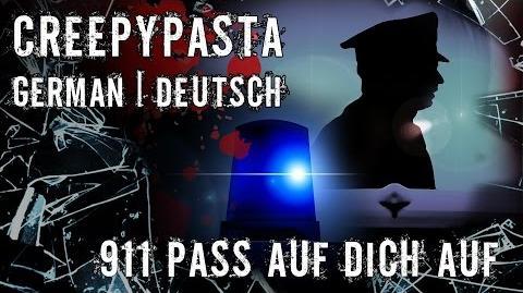 911- Pass auf dich auf ✽ Creepypasta german ✽ Gruselgeschichte ✽ CP✽ Horror Deutsch -SeelenSplitter-