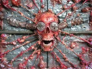 Z flayed skull