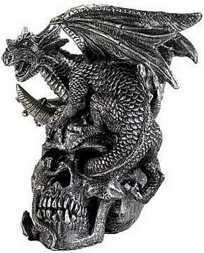 Skulldragon figurine