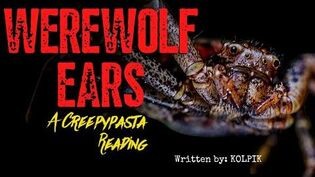 "Creepypasta Reading ""WEREWOLF EARS"" - Written by Kolpik"