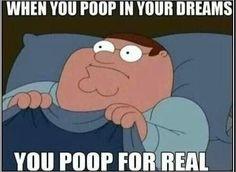 Poop dream