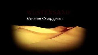"""""""Wüstensand"""" Creepypasta German Deutsch"""