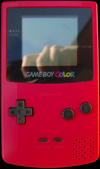Game Boy Color-red