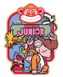 Donkey Kong Junior Sideart copy