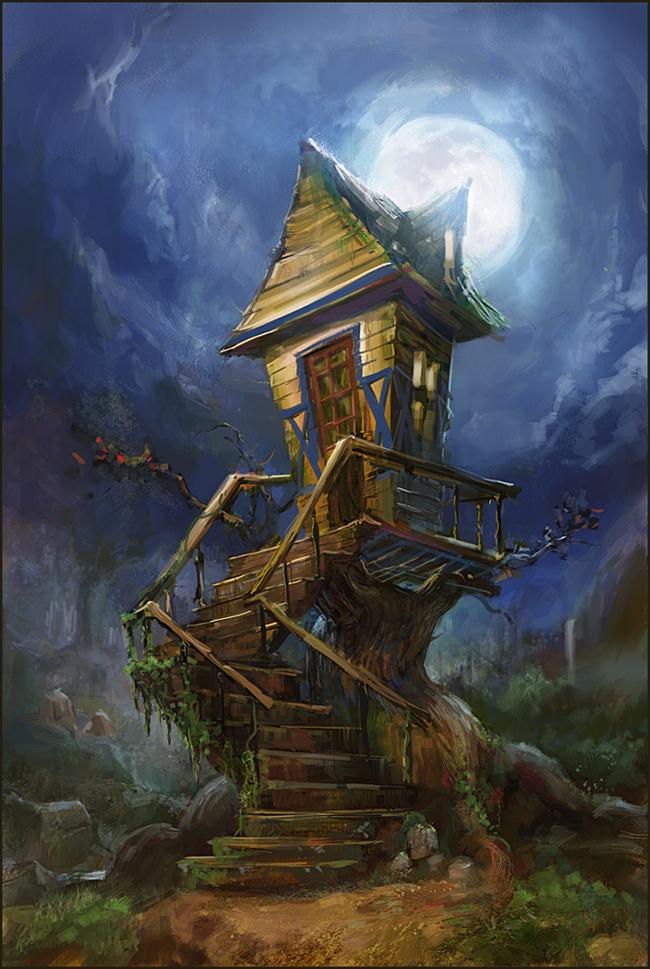 ведьмин дом рисунок минниханов обещал подумать