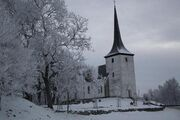 Church winter snow 607073