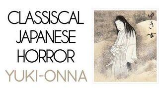 Classical Japanese Horror Yuki-onna