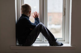 Psychic power window kid