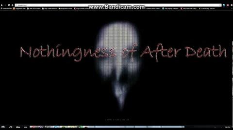 """""""Nothingness of After Death"""" by 4thoverthenight"""
