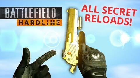 ALL RARE SECRET RELOAD ANIMATIONS! Battlefield Hardline Easter Eggs