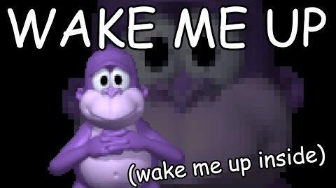 Bonzi Buddy sings WAKE ME UP (midi) (RIP HARAMBE)