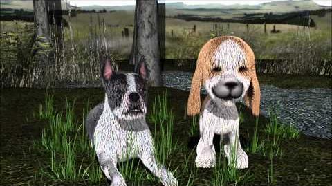 Bowwow, sad toy dogs
