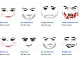 As caras deletadas do ROBLOX