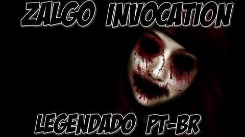 Zalgo invocation - PT BR