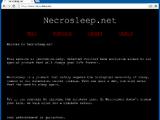 Necrosleep.net