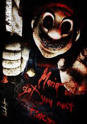 Super horror mario by o0blackfire0o-d4fk1br