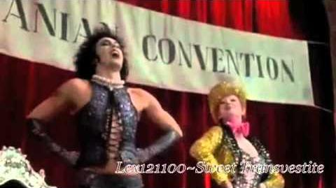 Rocky Horror Picture Show Sweet Transvestite
