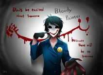 Bloody painter by delucat-d6qo43a