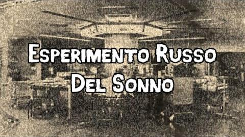 """""""Esperimento Russo Del Sonno"""" feat. D"""