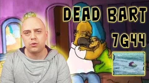 Il mistero della morte di Bart Simpson EPISODIO 7G44 DEAD BART CreepyPasta