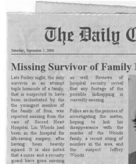 Jeff the killer newspaper article by creepyrasta-d69vm7w