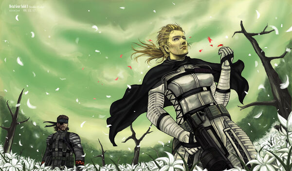 Mgs3 final battle by niceler