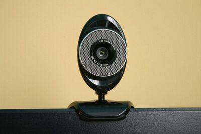 Camera webcam computer internet black electronics equipment it-649330