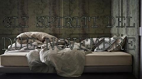Gli spiriti del due novembre
