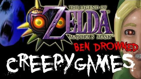 Creepy Games - EP4 Zelda Majora's Mask (BEN DROWNED)