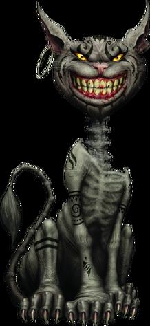 Cheshire Cat AMA render