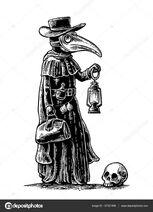 Depositphotos 137321958-stock-illustration-plague-doctor-with-bird-masksuitcase
