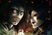 Creepypasta jeff the killer vs jane the killer by guardian beast-d57q9nf