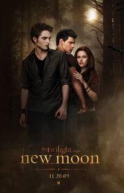 Primer poster Luna nueva