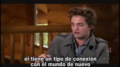 Robert Pattinson como Edward Cullen- Subtitulos en Español