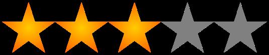 Resultado de imagen de 3 estrellas