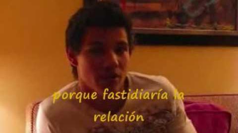 Taylor Lautner Entrevista