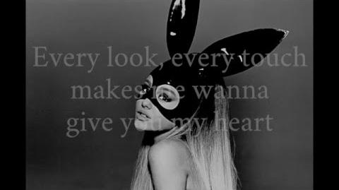 Moonlight by Ariana Grande (LYRICS)