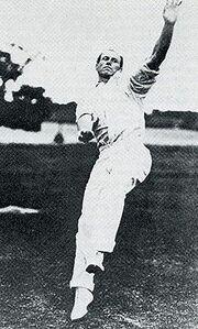 Cricket Right-Arm Medium by Philadelphian Bart King