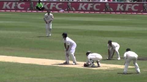 Alastair Cook making 189, 5th Ashes Test, SCG, Australia, Jan 2011
