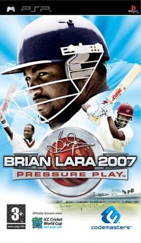 File:Brian Lara 2007 Pressure Play cover.jpg