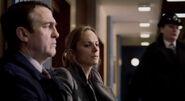 DS Ronnie Brooks with Matt's sister in Survivor's Guilt