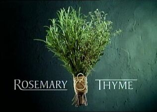 Rosemary and Thyme title card
