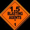 HAZMAT Class 1-5 Blasting Agents